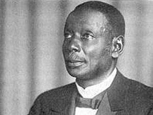 Pastor Robert Kwami auf einer Postkarte von 1932