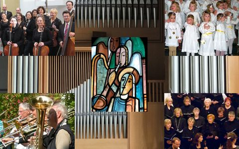 Collage Kirchenmusik; Bild: Kirchengemeinde Oldenburg