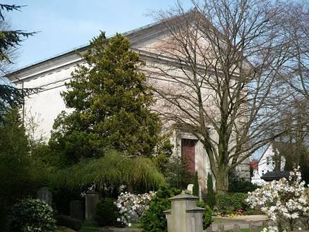 Mausoleum auf dem St. Gertrudenkirchhof; Foto: Ralph Hennings