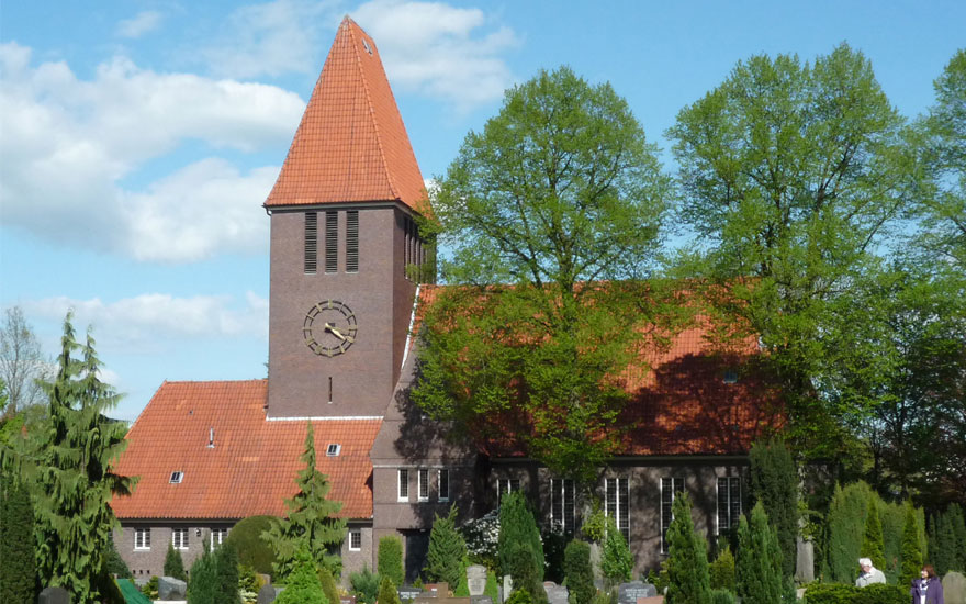 Auferstehungskirche; Bild: Kirchengemeinde Oldenburg