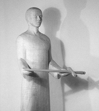 Hl. Lambertus von Nora Geißler; Foto: Ralph Hennings