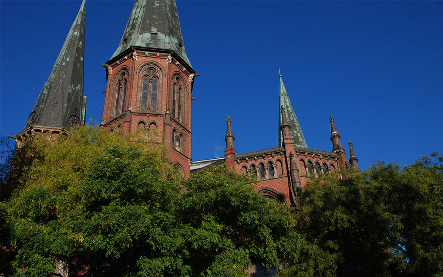 St. Lamberti-Kirche von außen; Foto: Ralph Hennings
