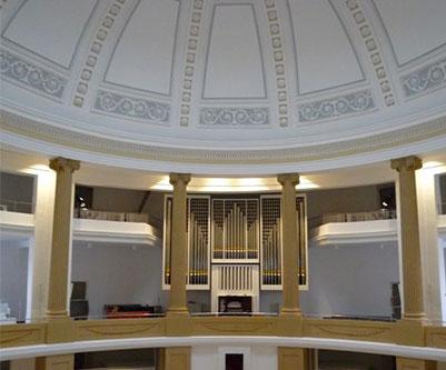 Innenansicht der Kuppel Lambertikirche 2009;Foto: Ralph Hennings