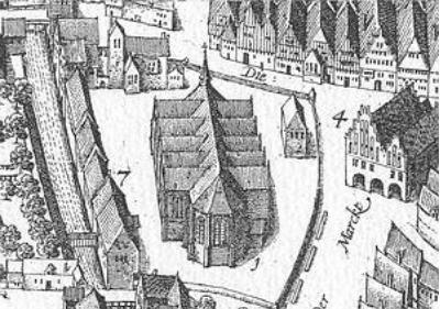 Stadtansicht; Bild: Pieter Bast 1599