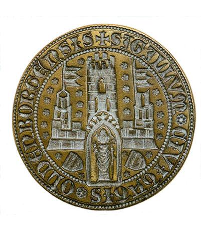 Stadtsiegel der Stadt Oldenburg von 1366; Foto: Stadt Oldenburg